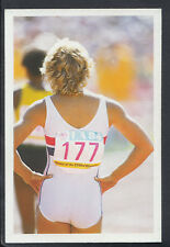 A Question of Sport 1986 Game Card - Shirley Strong - Athletics   (T565)