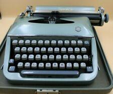 Torpedo Schreibmaschine Reiseschreibmaschine 50er 60er im Koffer