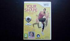 YOUR SHAPE: JEU Nintendo Wii (fitness sans caméra, envoi suivi)