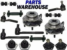 14 Pcs Kit Front Wheel Hub Suspension Parts for Blazer Bravada Jimmy S10 Sonoma