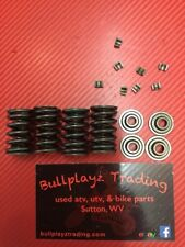 2001 Suzuki Quadrunner 500 Valve Springs Retainers And Clips Holders Used