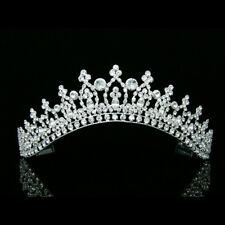 Bridal Pageant Rhinestones Crystal Prom Wedding Crown Tiara 7208