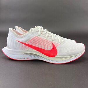 Nike Women's Zoom Pegasus Turbo 2 Platinum Tint Crimson Shoes AT8242-008 Size 11