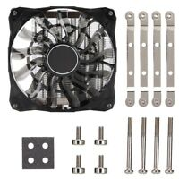 Pour ID-COOLING IS-50 Slim Quiet 12cm ITX Cooling Fan CPU Cooler for Intel AMD