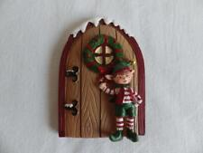 Elfo di Natale porta Ornamenti/FIGURINA/DECORAZIONI (E3)