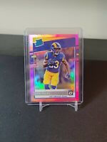 Cam Akers 2020 Donruss Optic Rated Rookie Pink Prizm Parallel RC Rams