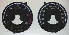 Lockwood Hyundai IX35 0-220KMH/0-6000RPM BLACK Dial Conversion Kit C592