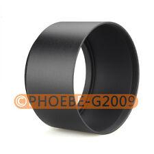 52mm Tele Metal Screw-in Lens Hood For Canon Nikon Sony Olympus Camera