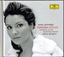 Anna NETREBKO: RUSSIAN ALBUM Deluxe-Ed CD+DVD GERGIEV Eugene Onegin Letter Scene