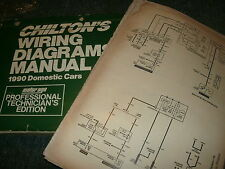 1990 CHEVROLET CORVETTE OVERSIZED WIRING DIAGRAMS MANUAL SCHEMATICS SHEETS SET