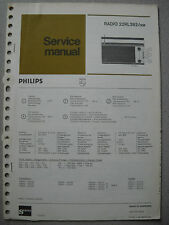 Philips 22 RL392 Kofferradio Service Manual