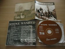 @ CD STONE WASHED - -FIVE MINUTES RARE GERMAN INDIE MELODIC / NECKARTON 199?