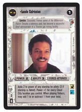 SWCCG Star Wars CCG • Lando Calrissian • CLOUD CITY • Black Bordered RARE