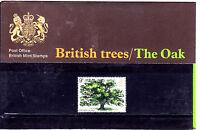 1973 BRITISH TREES/THE OAK  PRESENTATION PACK NO 49
