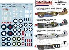 RAAF P-40N Kittyhawk WWII Decals 1/48 Scale N48004