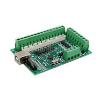 MACH3 CNC Breakout Board USB 100KHz 5-Axis Interface Driver Motion Controller os