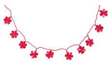 Lichterkette Blume aus Fiberglas Dekoleuchte Dekoration Beleuchtung Fensterdeko
