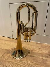 More details for antoine courtois 180r tenor horn in lacquer gold brass and rose gold, with mute