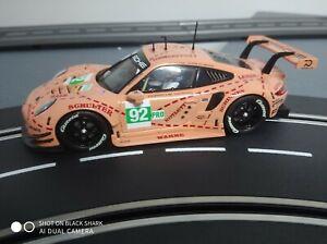 "Carrera 23886 - Digital 124 Porsche 911 RSR #92 ""Pink Pig Design"" Auto NEU"