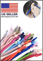 100 DIY Mask Sewing Elastic Band with Adjustable Buckle.