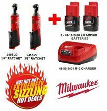 Milwaukee 2456-20/2457-20 M12 Cordless 1/4