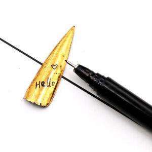 1 pc Nail Art Graffiti Pen Waterproof Painting Drawing Liner Brush Manicure Tool