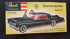 "V.RARE ORIGINAL ISSUE REVELL ""S"" CEMENT CONTINENTAL MARK II COMPLETE 1950s 1/32"