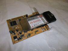 Belkin Wireless PC Card Pre-N Notebook Network IEEE 802.11b/g 2.4 GHz F5D8010