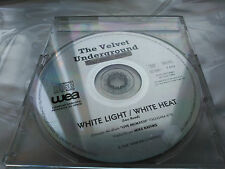 CD SINGLE PROMO THE VELVET UNDERGROUND - WHITE LIGHT WHITE HEAT SPAIN 1994 VG+