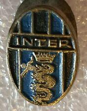 Distintivo calcio INTER badge pin PIEDINO vintage