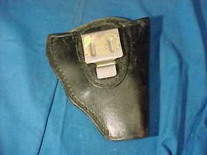 "Vintage INSIDE SMALL Size BUCHEIMER B14c-12 HOLSTER Rt Hand 5"""