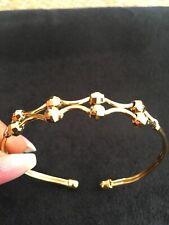 22k Lady's, Adjustable 22Ct, Adult Size Gold Filled Bangle, Bracelet