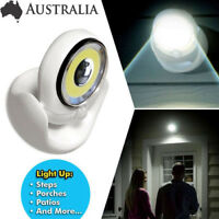 360°  LED PIR Motion Sensor Security Light Wall Cupboard Lamp Battery Operated