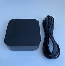 Apple TV (4th Gen.) Model A1625 HD Black Excellent Condition - No Remote