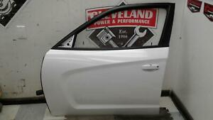 2011-2014 Dodge Charger OEM LH Left Driver Complete Front Door Assembly White