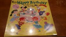 Disneyland Lp Happy Birthday and songs for every holiday SEALED lp DQ 1214
