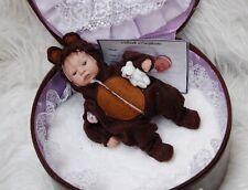 Beautiful Bear Design Tiny Reborn Baby By Travelin' Teenies ~ OOAK ~ Cute Size!!