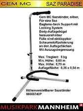 Cem MC AYAKLIK süper Silver Sazständer silber - für Saz Baglama kursu Mannheim