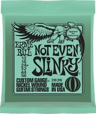 NOT EVEN SLINKY 2626 ERNIE BALL ELECTRIC GUITAR STRINGS SET 12-56 STRINGS