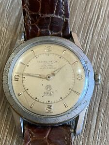 Montre ancienne RECORD WATCH GENÈVE WATERPROOF ROTOR automatic ? 174 Fonctionne