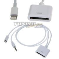 Lightning Adapter Kabel 8 Pin auf 30-Pol Dock für iPhone 5 / 6 / Plus iPad #5276
