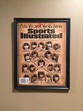 FRAMED Chicago Cubs Sports Illustrated October 10 No Mailing Label World Series