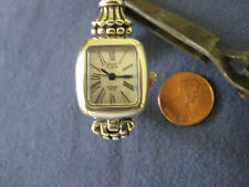 #709 ladys sterling silver ANNE KLEIN  quartz  watch  bracelet