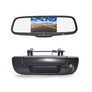 Tailgate Reverse Backup Camera + 5'' Mirror Monitor for Dodge Ram 1500 2500 3500
