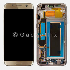 US Samsung Galaxy S7 Edge G935V G935P G935A G935T LCD Display Touch Screen Frame