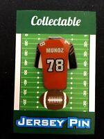 Cincinnati Bengals Anthony Munoz lapel pin-Collectible-4 caps/shirt/jerseys