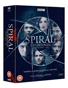 """SPIRAL COMPLETE BBC SERIES 1-6 COLLECTION DVD BOX SET 16 DISCS """"NEW&SEALED"""""""