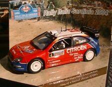 CITROEN XSARA WRC #4 SARDINIA RALLY 2004 VITESSE 43216 SAINZ NEW MARTI