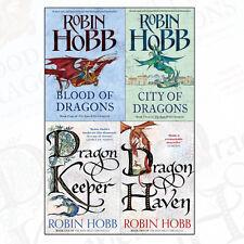 Robin Hobb Collection 4 Books Set The Dragon Keeper ,Dragon Haven PB,NEW
