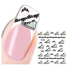 3D Nagel Sticker Schuhe Nail Art New Design Kult Aufkleber Water Decall